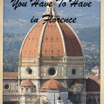 Top 20 Experiences You Have To Have in Florence