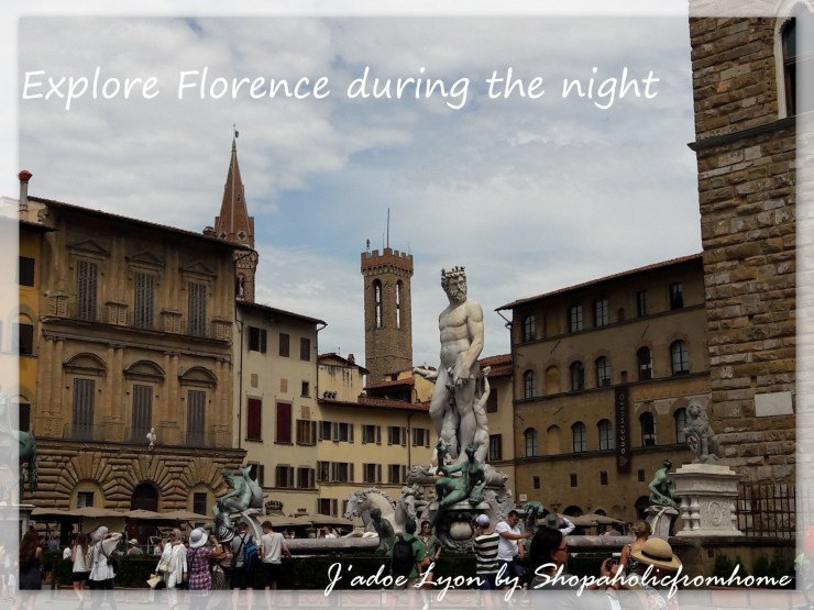 Explore Florence during the night.
