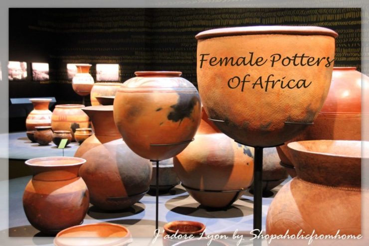 Femal potters of Africa
