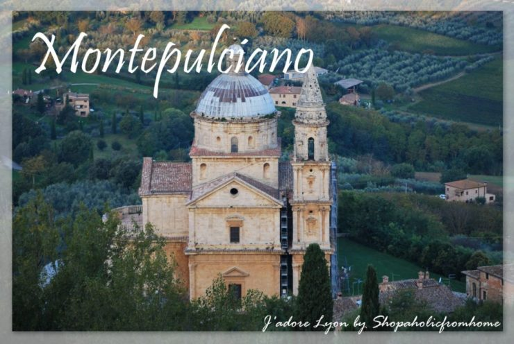 Montepulciano in Tuscany