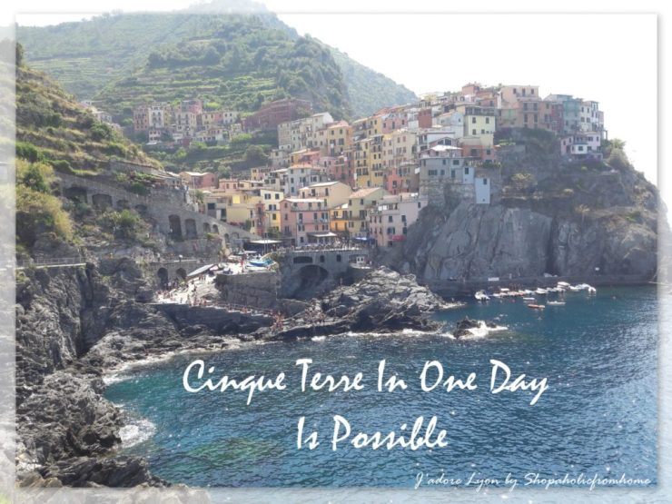 Cinque Terre In One Day Is Possible!