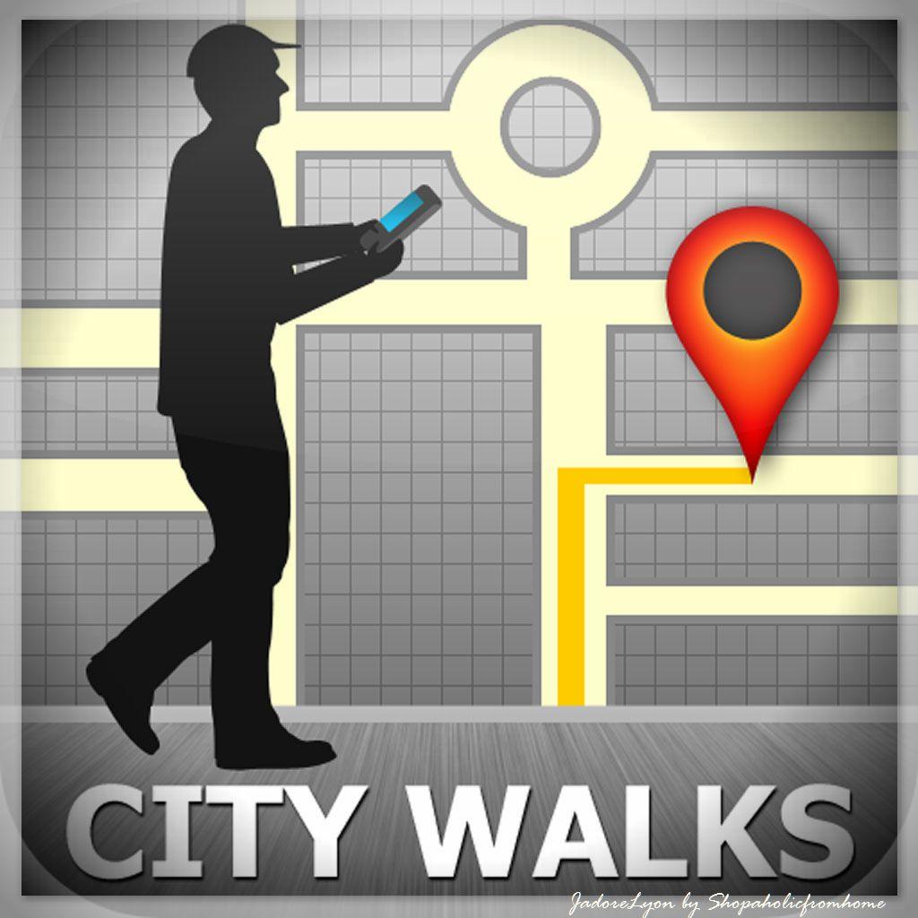citywalk GPSmyCity app