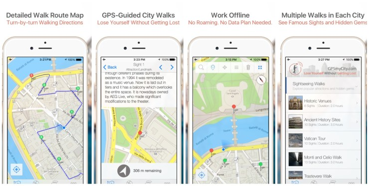 The potential of gpsmycity app