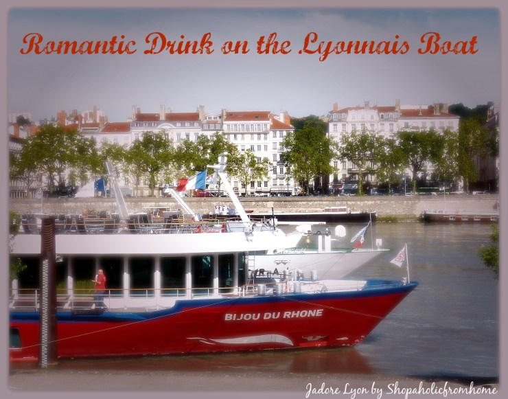 Romantic Drink on the Lyonnais Boat