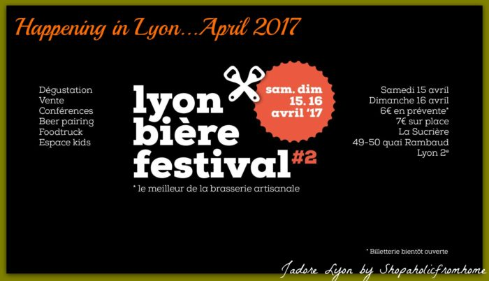 Happening In Lyon April Lyon Beer Festival