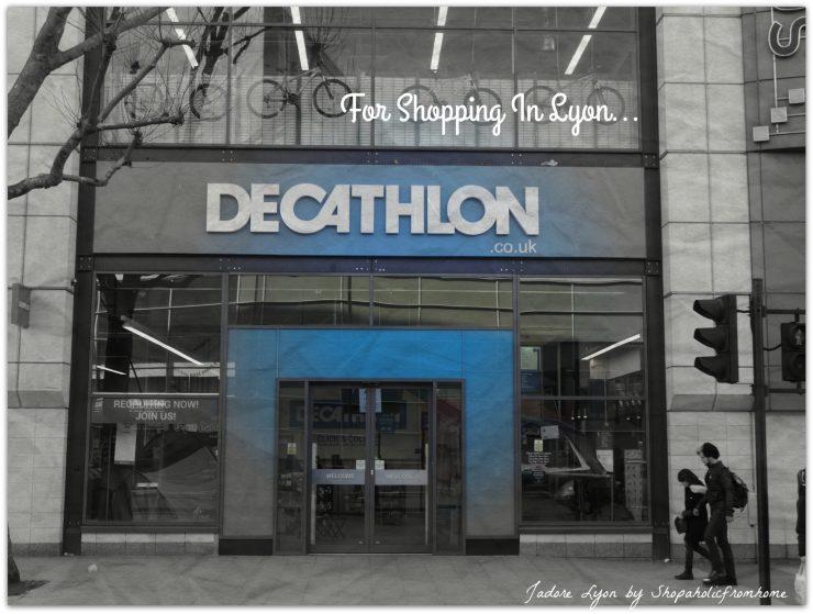Decathlon Shopping in Lyon
