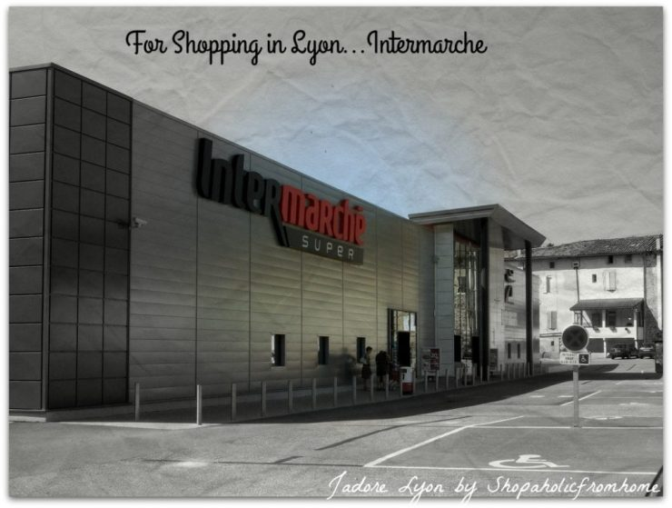 Intermarche Shopping in Lyon