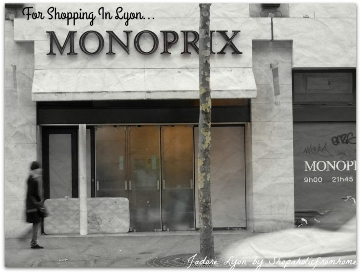 Monoprix Shopping In Lyon