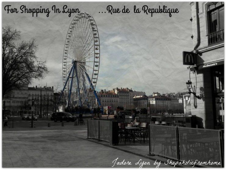 Rue de la Republique - Shopping in Lyon