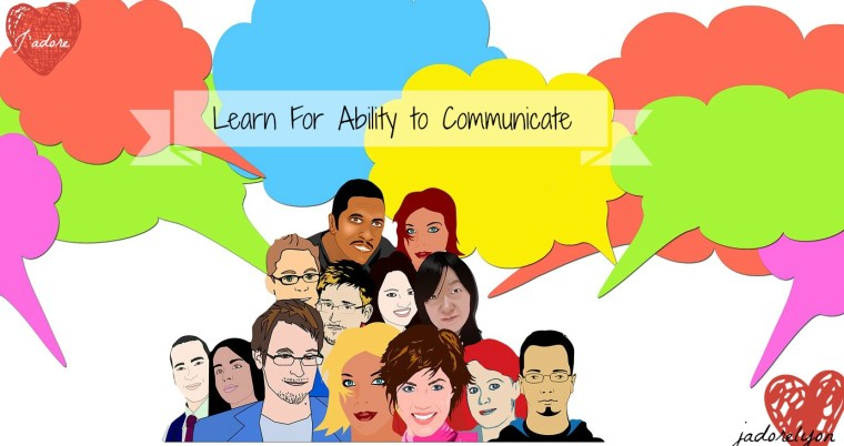 Lear for ability to communicate