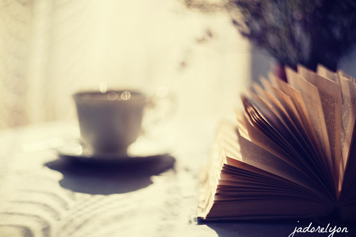 Get a book and a warm so french tisane in Lyon and in autumn