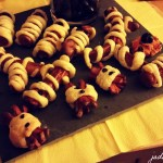 Sausage Mummies Ready to Be Eaten