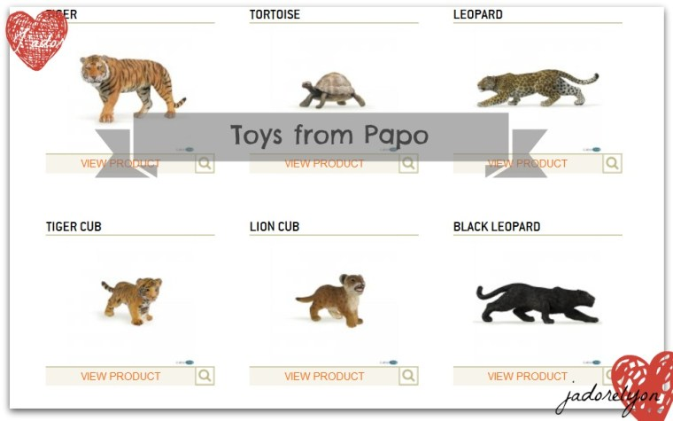 Toys from Papo_Wild_Animals