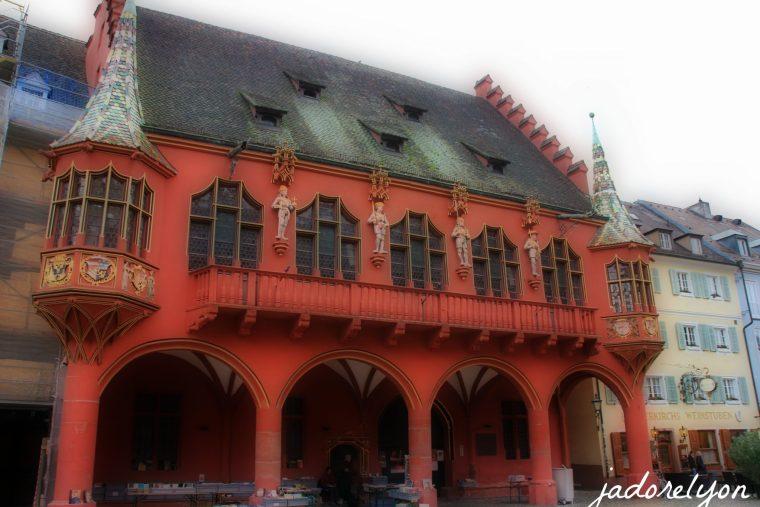 Hotel de Ville in Basel in Swiss - stunning!