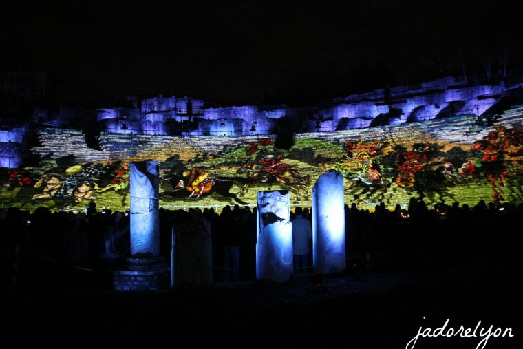 Gallo-Roman Amphitheatre - first time opened during the festival and what emotions it revealed! I loved it!