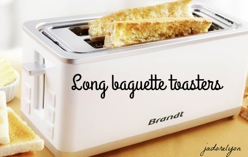 Long baguette toasters