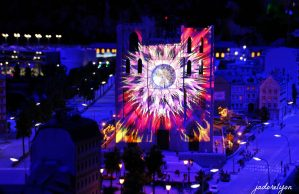 Fete des Lumieres everyday in Lyon at MiniWorld!