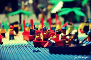 Lego Expo at MiniWorld - Pirates