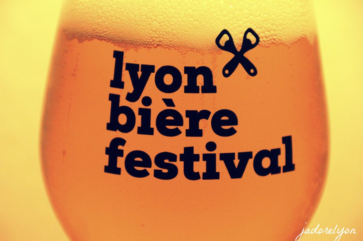 Yummy beer from the Beer Festival in Lyon