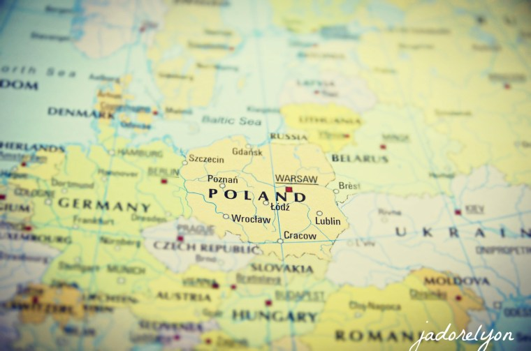 This is Poland - in the heart of Europe