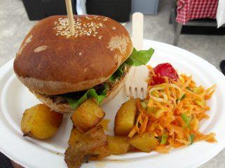 Yummy lunch from Food trucks