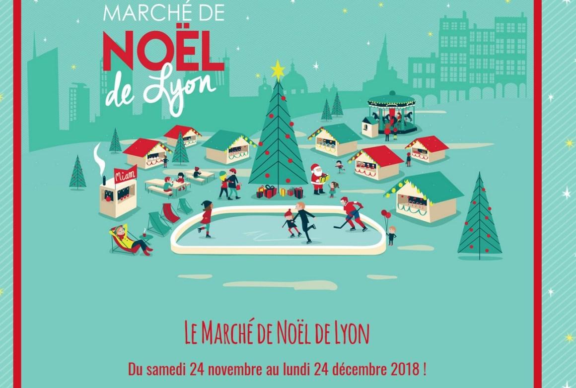 Marche de Noel Lyon