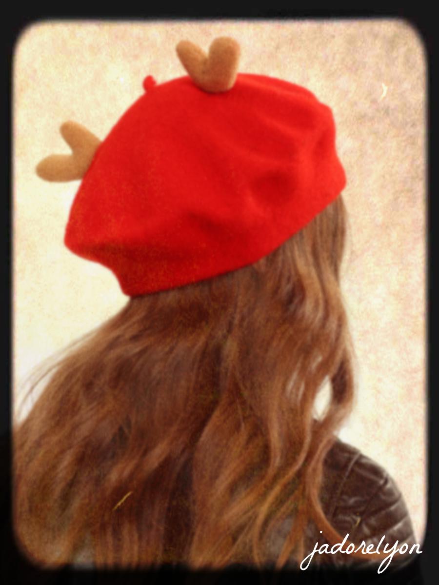 christmas theme beret