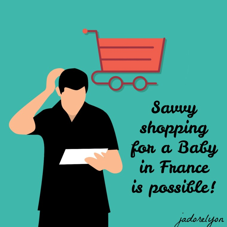 Tips for a savvy shopping for a baby in France