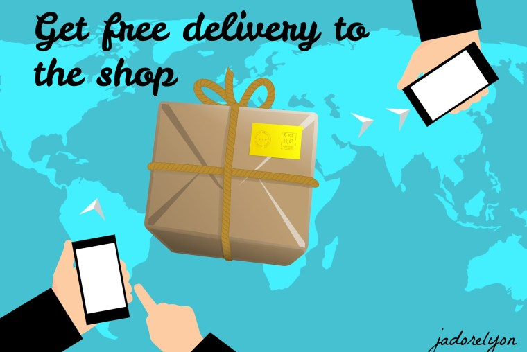 get free delivery