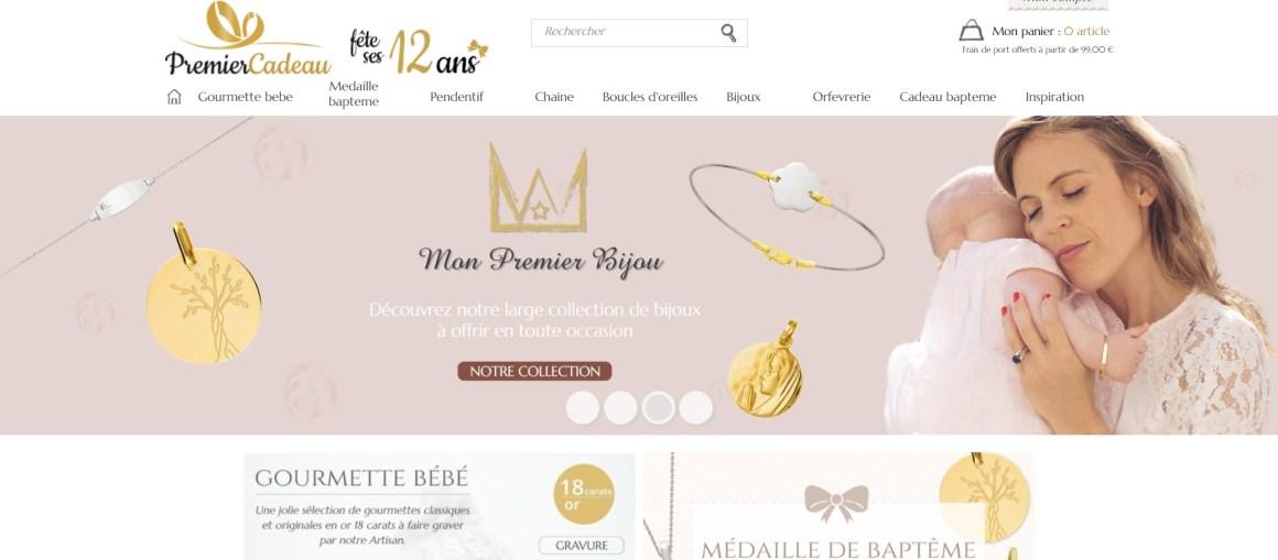 Cadeau de baptême, gourmette bébé, medaille et chaine - PremierCadeau_ - www.premiercadeau.com