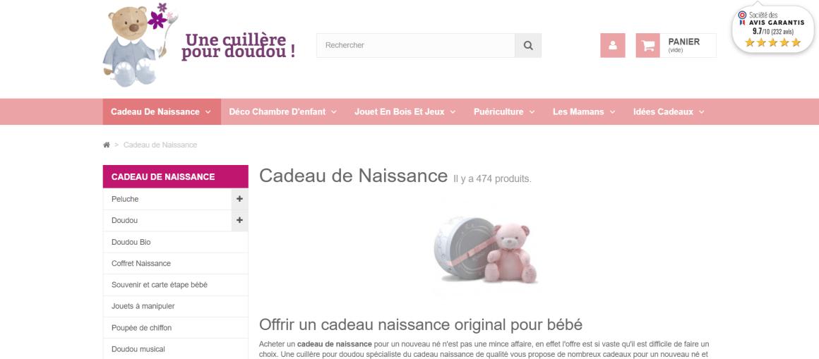 Cadeau de naissance original _ cadeaux bébé - www.unecuillerepourdoudou.com