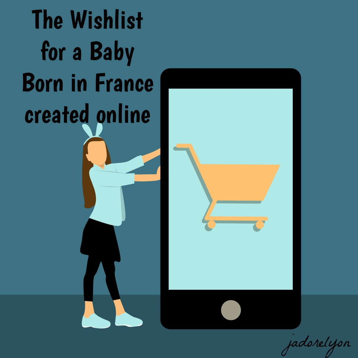 The Wishlist for a Baby Born in France created online