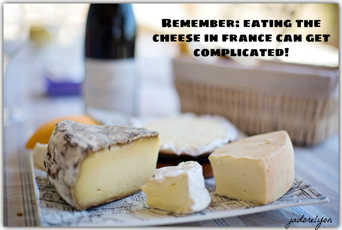 Avoid starting to cut the cheese first if you do not know the cheese etiquette in France!