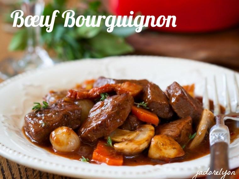 Bœuf Bourguignon.