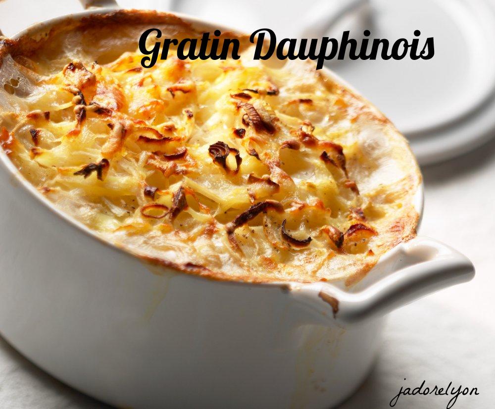 Gratin Dauphinois.