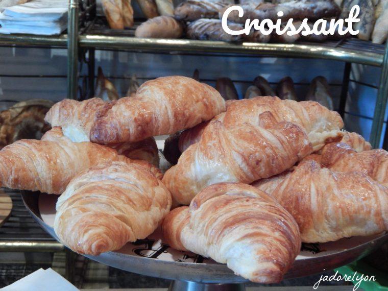 Croissant and Pain au chocolat.