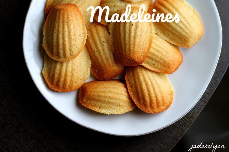 Madeleines.
