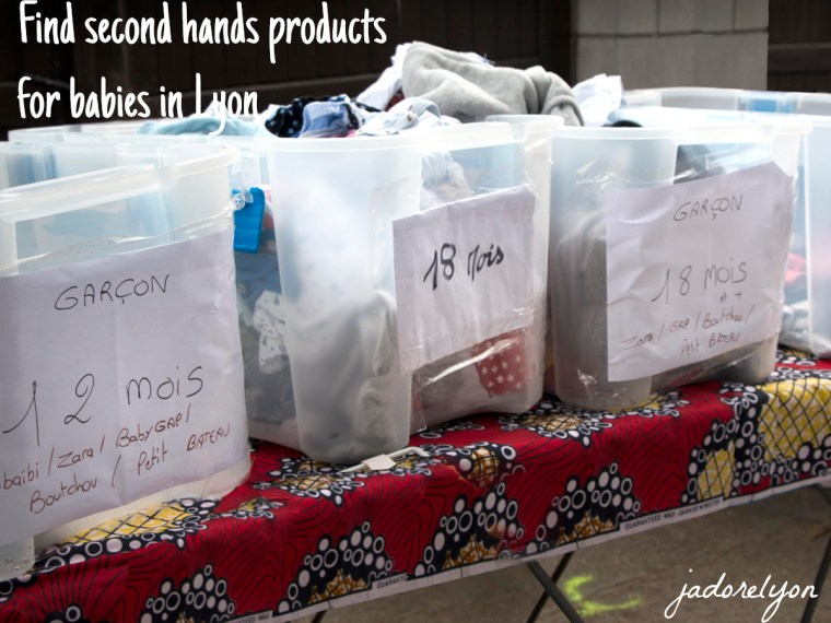 Find the second hand products for babies