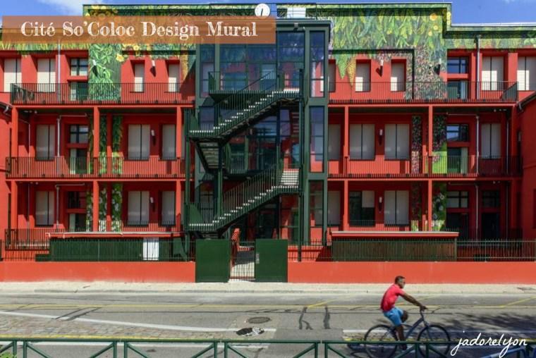 Cité So'Coloc Design Mural