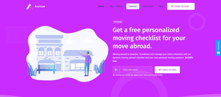 Avvinue - the free relocation platform