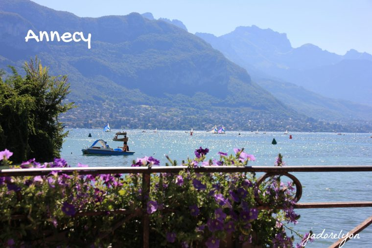Visit Annecy around Lyon with a baby