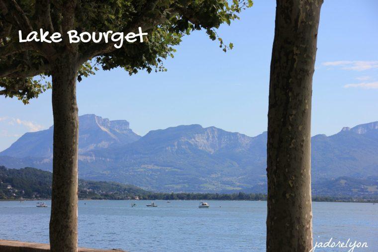Visit Lake Bourget around Lyon with a baby
