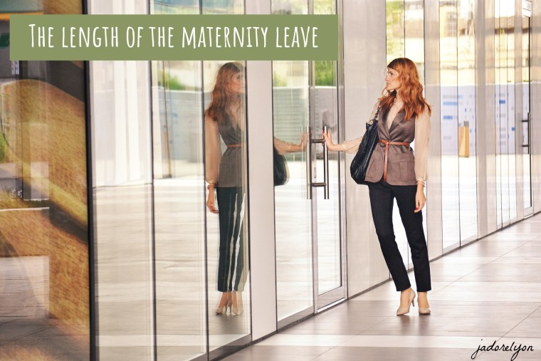 The length of maternity leave