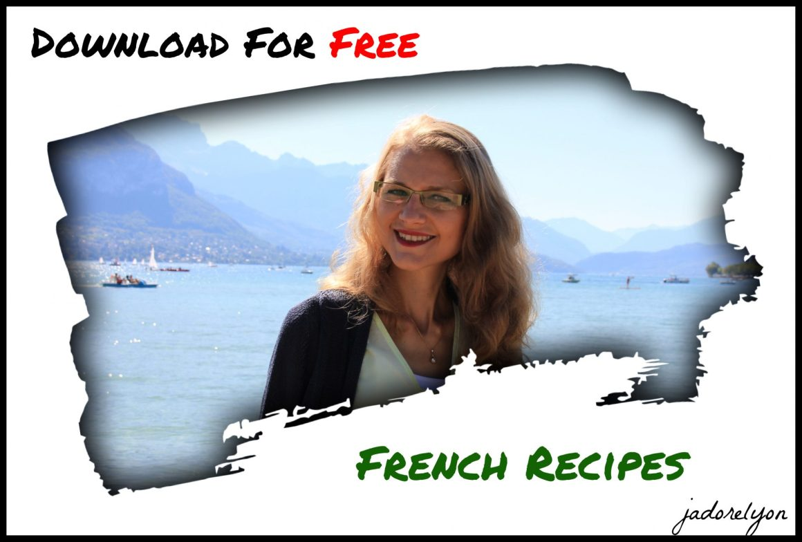 Download for free french recipes