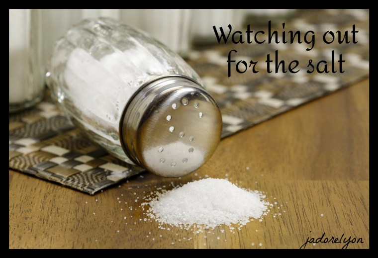 Watching out for the salt