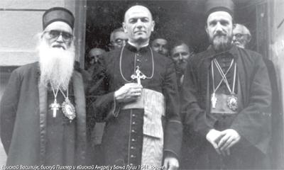 Бискуп бањалучки Алфред Пихлер и Срби