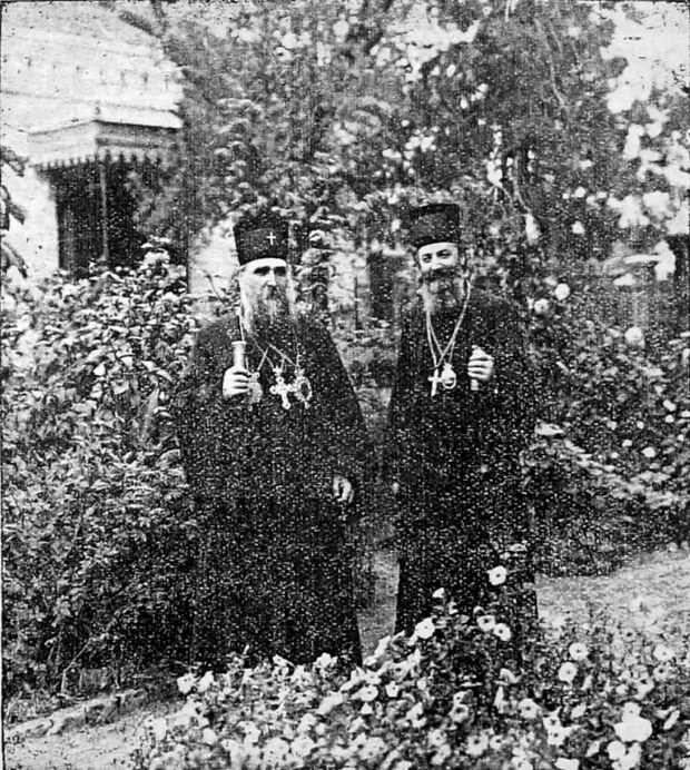 Патријарх Варнава и владика Јован у Нишу