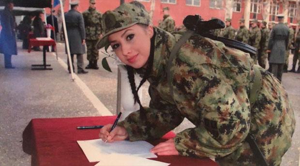 ЗАКЛЕТВА Милица постаје професионални војник