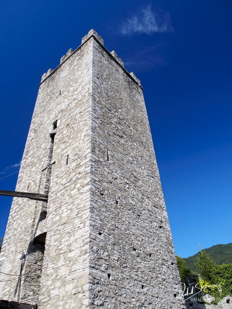 Baszta na zamku Vezio