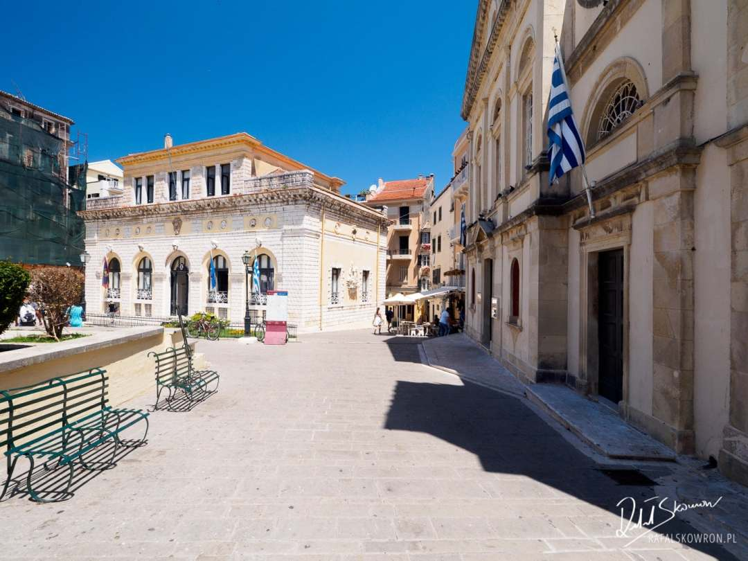 Ratusz w Korfu - Corfu Town